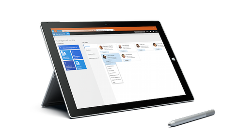 Microsoft Dynamics AX Tablet