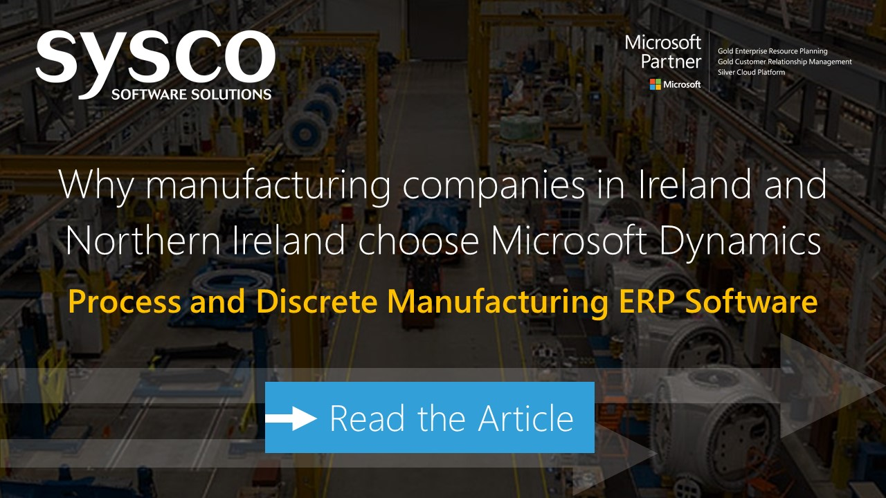 why manufacturing companies in ireland and northern